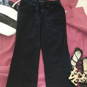 BANANA REPUBLIC CROPPED Pinstripe Cargo Pants 4